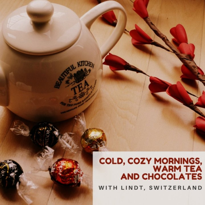 Winters, Christmas and LindtChocolates!