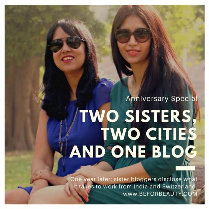 Two Sisters, Two Cities and OneBlog