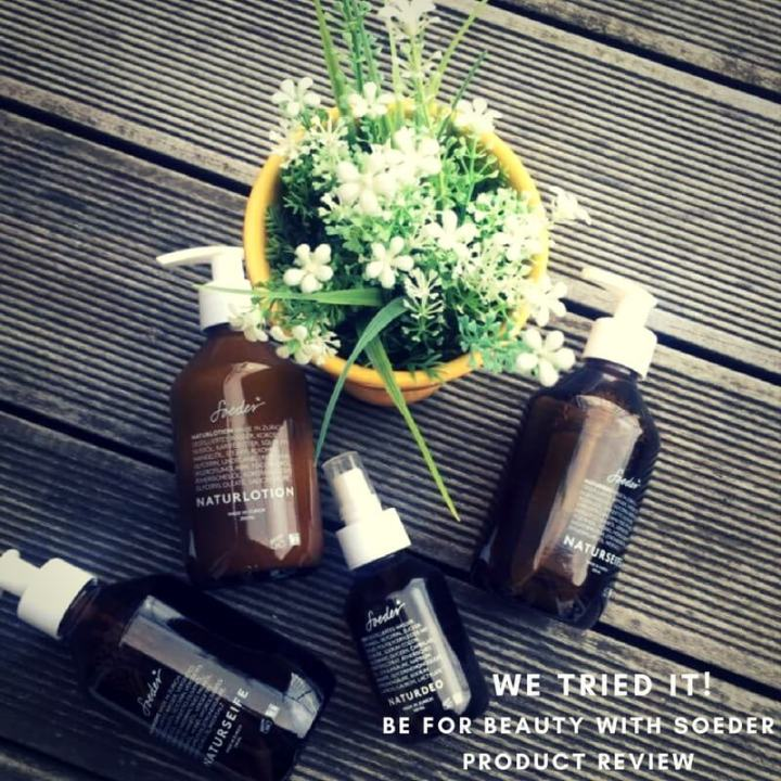 We Tried It: Soeder Natural Care