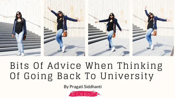 Bits Of Advice When Thinking Of Going Back ToUniversity