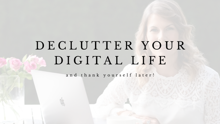 Back To Work Challenge: Declutter your digital life now – thank yourself later!
