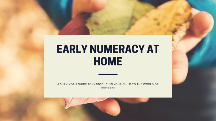 Early Numeracy At Home