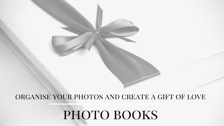 Organise your photos and create a gift of love. Photo books.