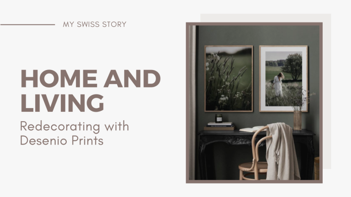 Home and Living: Redecorating with DesenioPrints