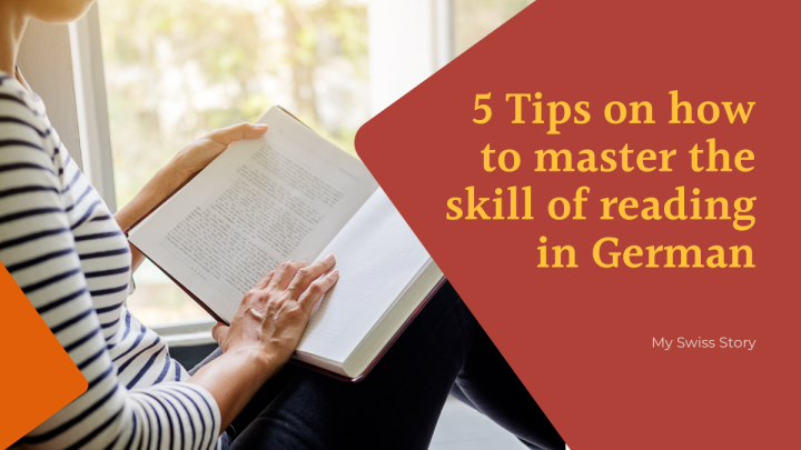 5 Tips on how to master the skill of reading inGerman