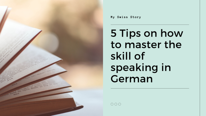 5 Tips on how to master the skill of speaking in German