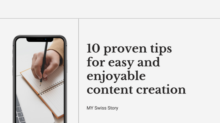 10 proven tips for easy and enjoyable contentcreation